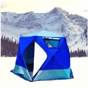 Палатка - куб для зимней рыбалки MirCamping 2020